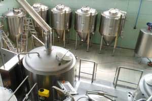 Microcerveseries completes a vapor – 2B/1000 l. 3 dipòsits