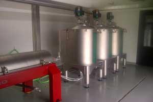 Instal·lació de molí d'oli a Mas de Flandí