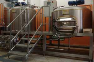 Microcervecerias completas a vapor – 2B/500 l.