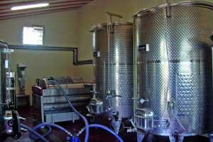 Instal·lació de celler complet a Celler Carlania