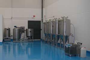 Instalación de microcervecería TIX-G 250 (Madrid)